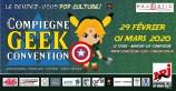 évenement - Compiègne Geek Convention 2020