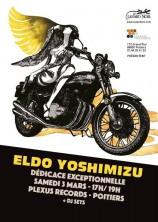 mangas - Eldo Yoshimizu en dédicace à Poitiers