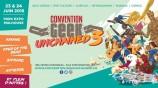 évenement - Convention Geek Unchained 3