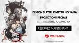 évenement - Demon Slayer : Kimetsu no Yaiba - Projection spéciale au Grand Rex