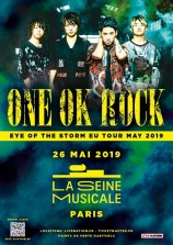 mangas - One OK Rock - Eye Of The Storm UE Tour 2019