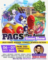 évenement - Pau Anime Game Show 2018
