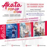 mangas - Pop-Up Store Akata - 2020