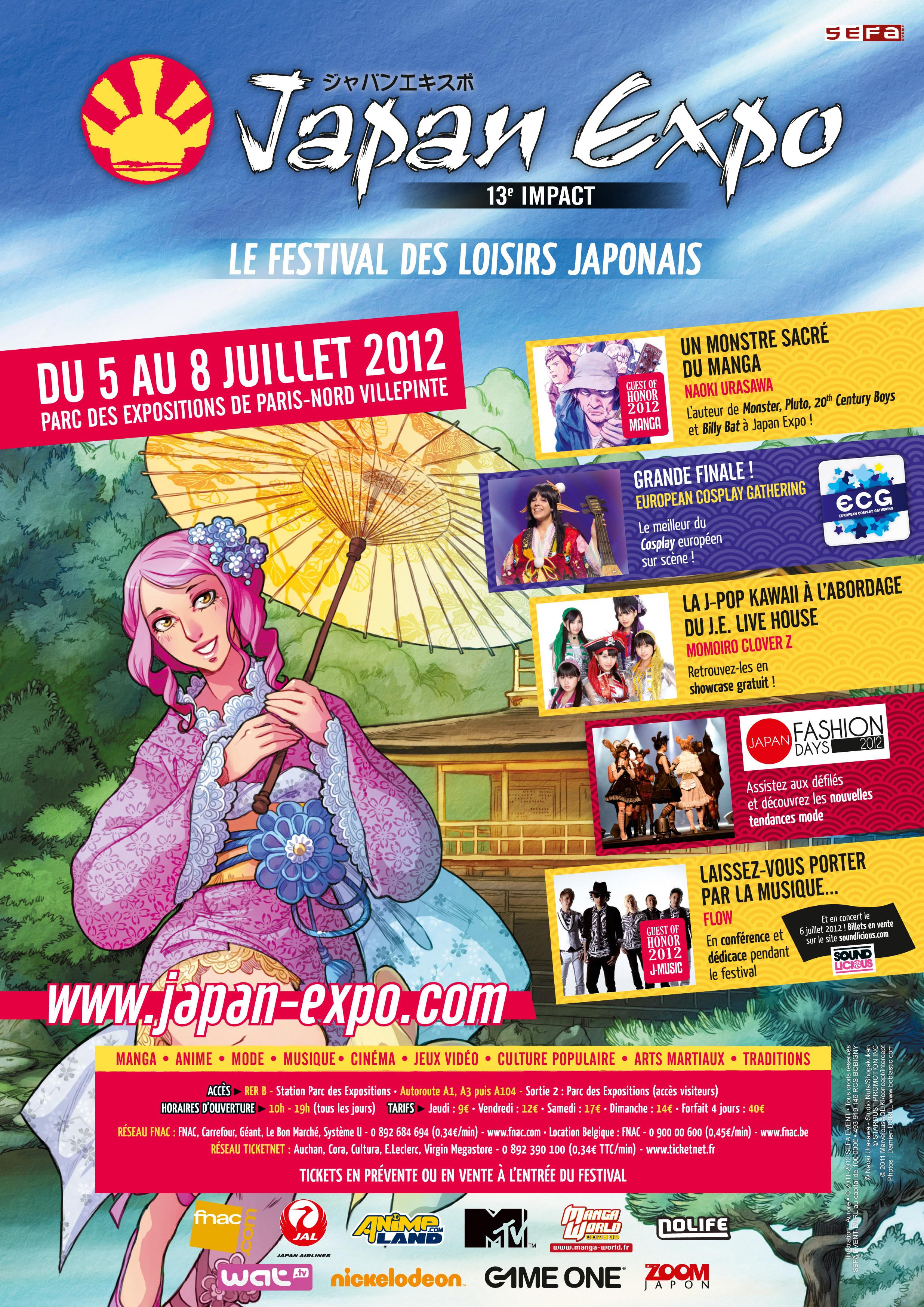Japan expo 2012 v nement manga news - Japan expo paris 2017 ...