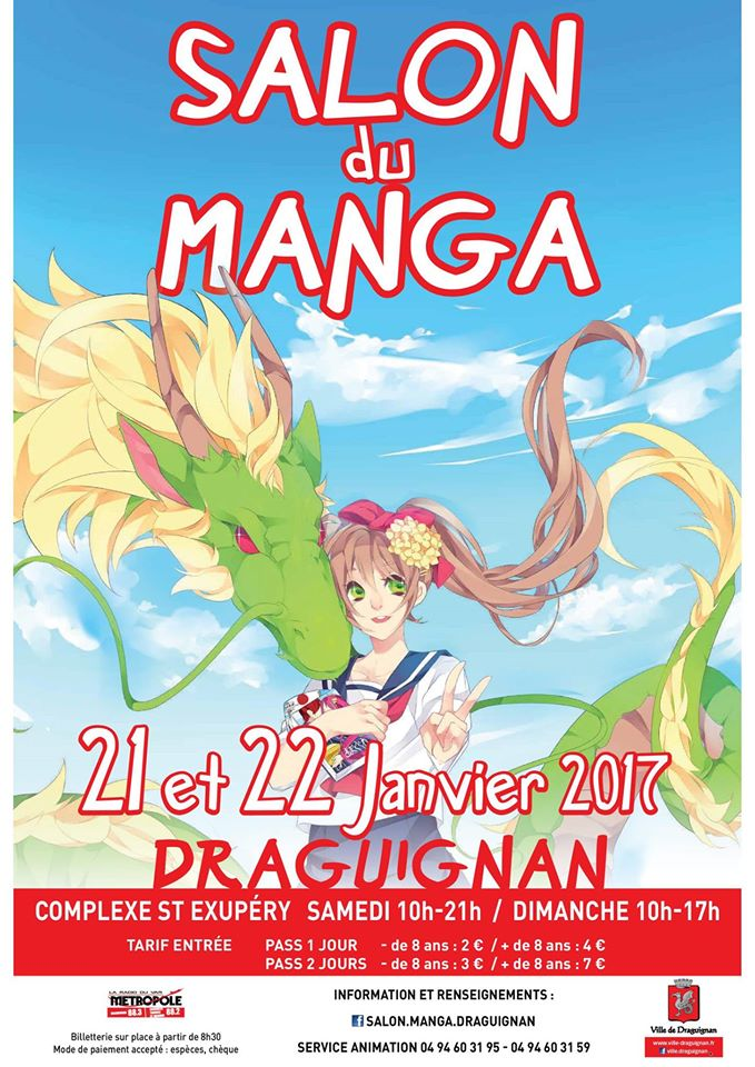 Salon du manga de draguignan 2017 v nement manga news for Salon du the