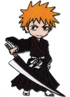 goodie - Bleach - Patch Tissu Ichigo SD