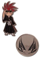 goodie - Bleach - Pin's Renji Et Tatouage