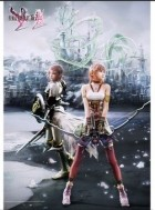 goodie - Final Fantasy XIII-2 - Poster Lightning Et Serah