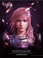 goodie - Final Fantasy XIII-2 - Poster Portrait De Lightning