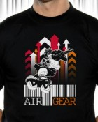 Air Gear - T-shirt Fast & Jump - Nekowear