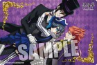 goodie - Black Butler Book Of Circus - Tapis De Souris Sebastian, Ciel & Joker - Broccoli
