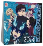 Calendrier - Blue Exorcist - 2014