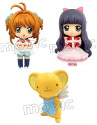 Card Captor Sakura - Color Colle DX Set Saint-Valentin Sakura, Tomoyo & Kerberos