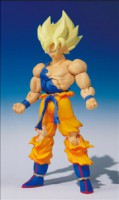 goodies manga - Dragon Ball Z - Shodo - Son Goku SSJ - Bandai