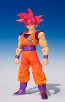 goodies manga - Dragon Ball Z - Shodo - Son Goku SSJ God - Bandai