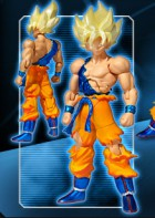 goodies manga - Dragon Ball Z - Shodo Ultimate Spark - Son Goku SSJ - Bandai