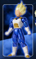 goodies manga - Dragon Ball Z - Shodo Ultimate Spark - Vegeta SSJ - Bandai