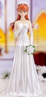 Asuka Langley - EX Figure Ver. White Wedding - SEGA