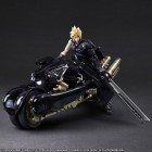 goodies manga - Cloud Strife & Fenrir - Play Arts Kai Ver. Advent Children - Square Enix