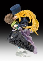 goodies manga - Maetel & Tetsuro Hoshino - Super Figure Art Collection Ver. Last Scene - Medicos Entertainment