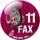 goodie - Head Trick - Badge Chapter Fax Le Phacochere