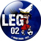 goodie - Head Trick - Badge Chapter Leg