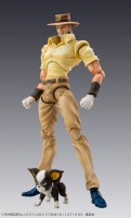 Joseph Joestar & Iggy - Super Action Statue - Medicos Entertainment