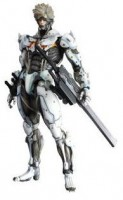 Raiden - Play Arts Kai Ver. White