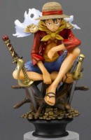 One Piece - Chess Piece Collection R Vol.1 - Monkey D. Luffy Ver. King - Megahouse
