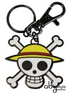 One Piece - Porte-clés Skull Luffy - ABYstyle
