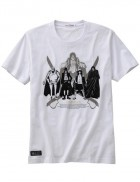 One Piece - T-shirt Legend Of D Blanc - Uniqlo