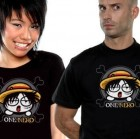 One Piece - T-shirt One Neko Luffy - Nekowear