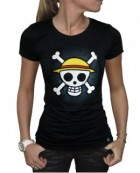 One Piece - T-shirt Skull With Map Femme - ABYstyle