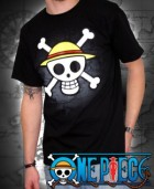 goodie - One Piece - T-shirt Skull With Map Homme - ABYstyle