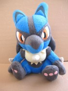 Lucario - Peluche UFO Catcher Movie 2005 - Banpresto