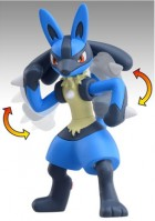 goodies manga - Lucario - Super Size Monster Collection - Takara Tomy