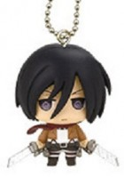 Attaque Des Titans (l') - Strap Deformed Mini Chimi Chara Mascot - Mikasa Ackerman - Takara Tomy