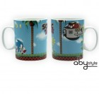Sonic - Mug Sonic Green Hills Level Grand Contenant - Abystyle