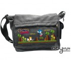 Sonic - Sac Besace Sonic Green Hills Level Grand Format - Abystyle