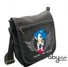 goodie - Sonic - Sac Besace Sonic Too Slow Petit Format - Abystyle