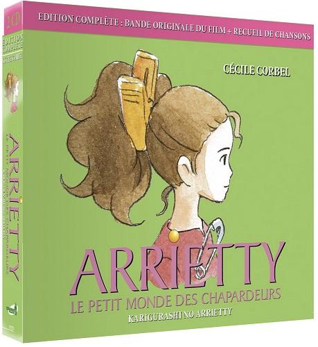 Arrietty - CD Bande Originale Ed.  Complète