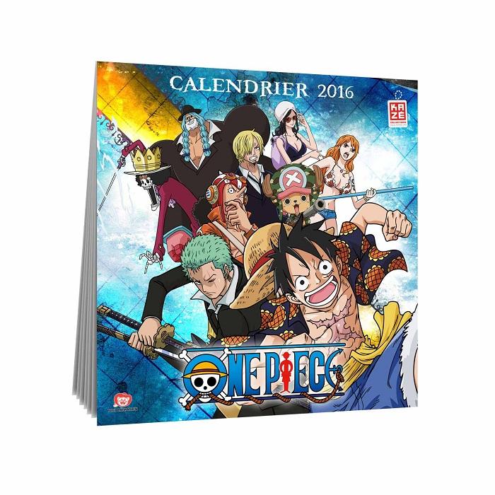 Goodie Calendrier One Piece 2016 Kaz Manga News