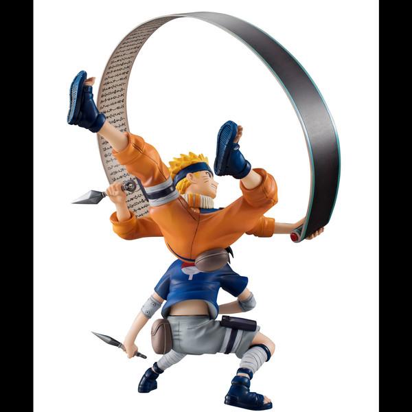 figurine manga sasuke
