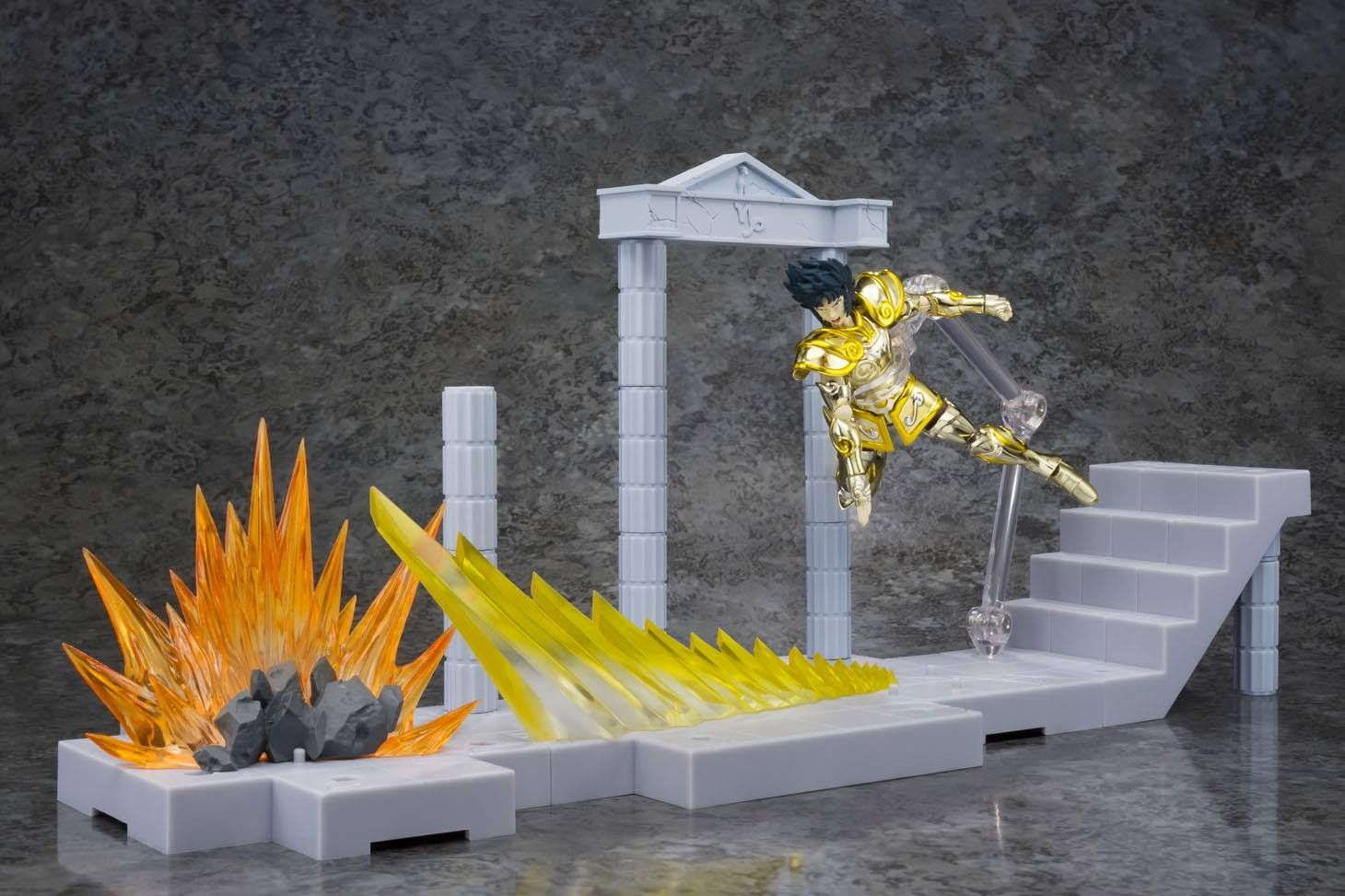 goodie - Shura chevalier d'or du Capricorne - D.D. Panoramation Ver. Glittering Excalibur in the Palace of the Rock Goat - Bandai