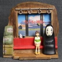 goodie le voyage de chihiro cadre photo chihiro sans visage benelic manga news. Black Bedroom Furniture Sets. Home Design Ideas