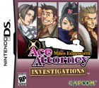 Jeu Video - Ace Attorney Investigations - Miles Edgeworth