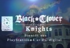 jeu video - Black Clover: Quartet Knights