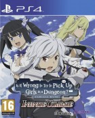 jeux video - DanMachi - Is It Wrong to Try to Pick Up Girls in a Dungeon? Infinite Combate