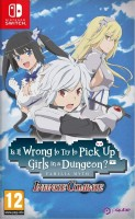 jeu video - DanMachi - Is It Wrong to Try to Pick Up Girls in a Dungeon? Infinite Combate