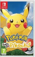 Jeu Video - Pokémon Let's Go Pikachu